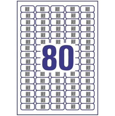 Pre-printed QR-Code (26x26mm)